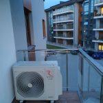 Klimatyzator na balkonie Łódź