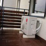 Klimatyzacja LG taras Łódź
